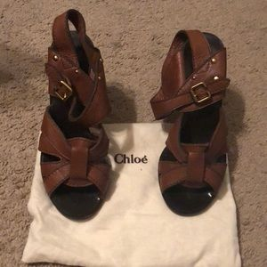 Authentic Chloe Sandals in good condition
